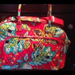 Vera Bradley Paisley In Paradise Travel Bag